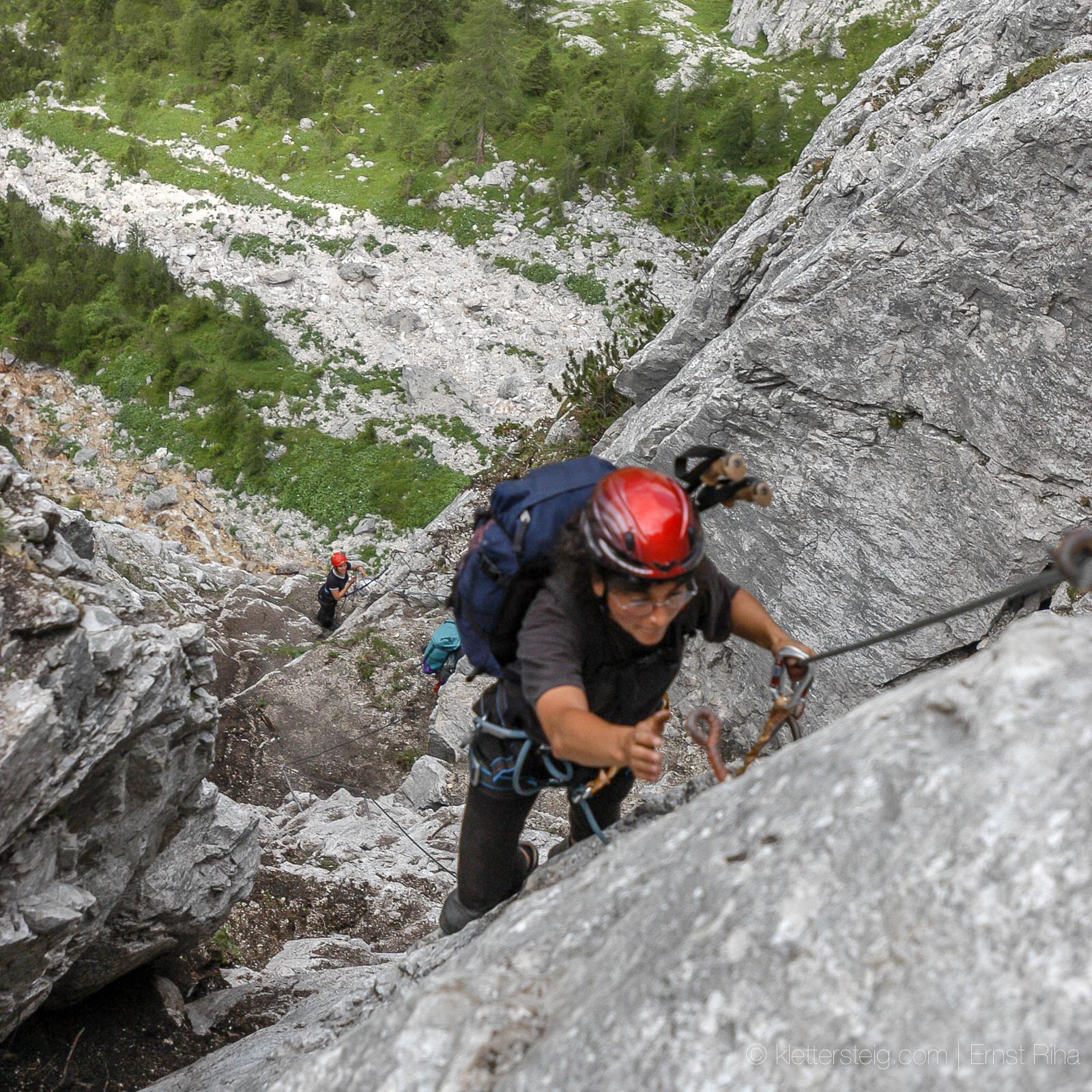 Seeben- und Tajakante Klettersteig