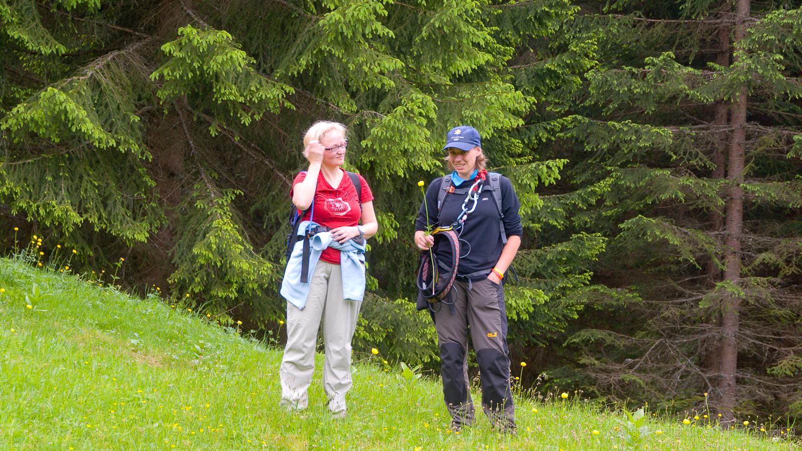 Tajakante Klettersteig